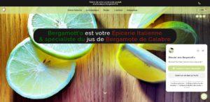 Bergamott-o image du Site E-Commerce