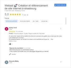 répondre aux avis sur google my business seo