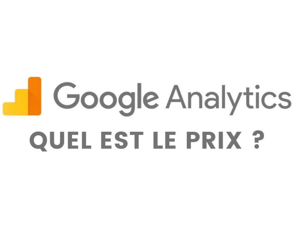 google analytics prix