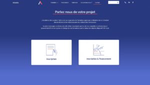 page contact alp