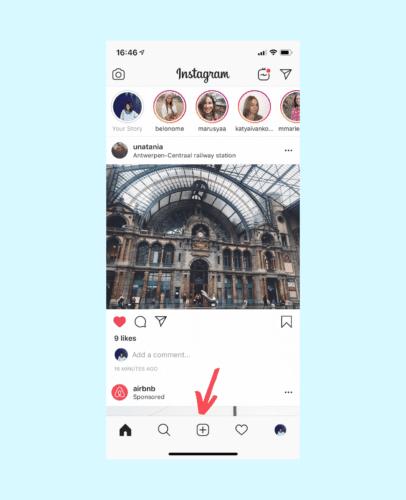 mettre video instagram