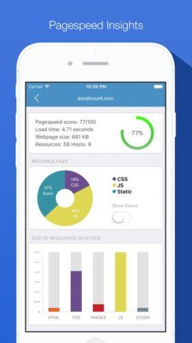 SEO pro iphone app